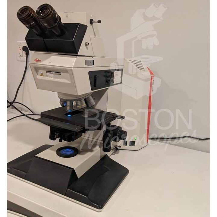 Leica DM R Trinocular Fluorescence Compound Microscope