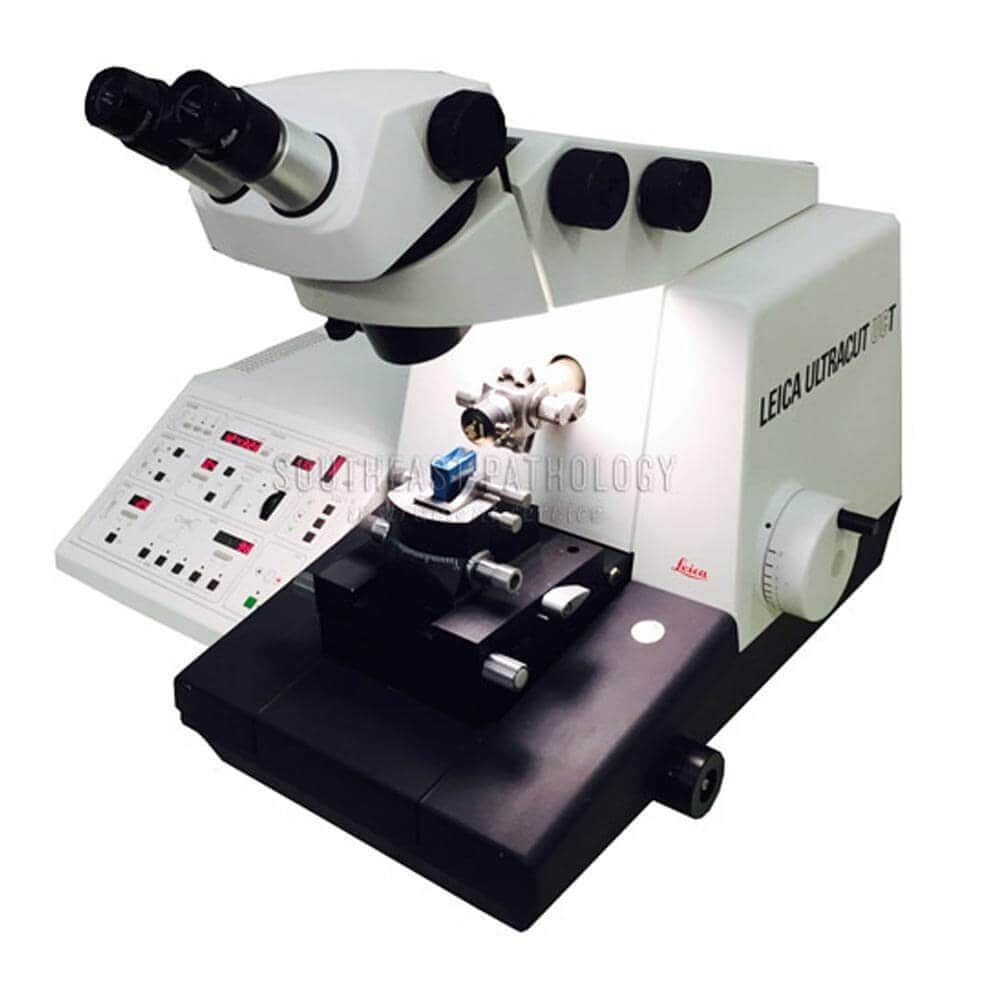 Leica Ultracut UCT ultra-microtome, refurbished, 1 year warranty- Southeast Pathology Instrument Service