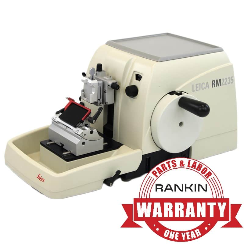 Leica RM2235 Microtome | Rankin 1-Year Parts & Labor Warranty