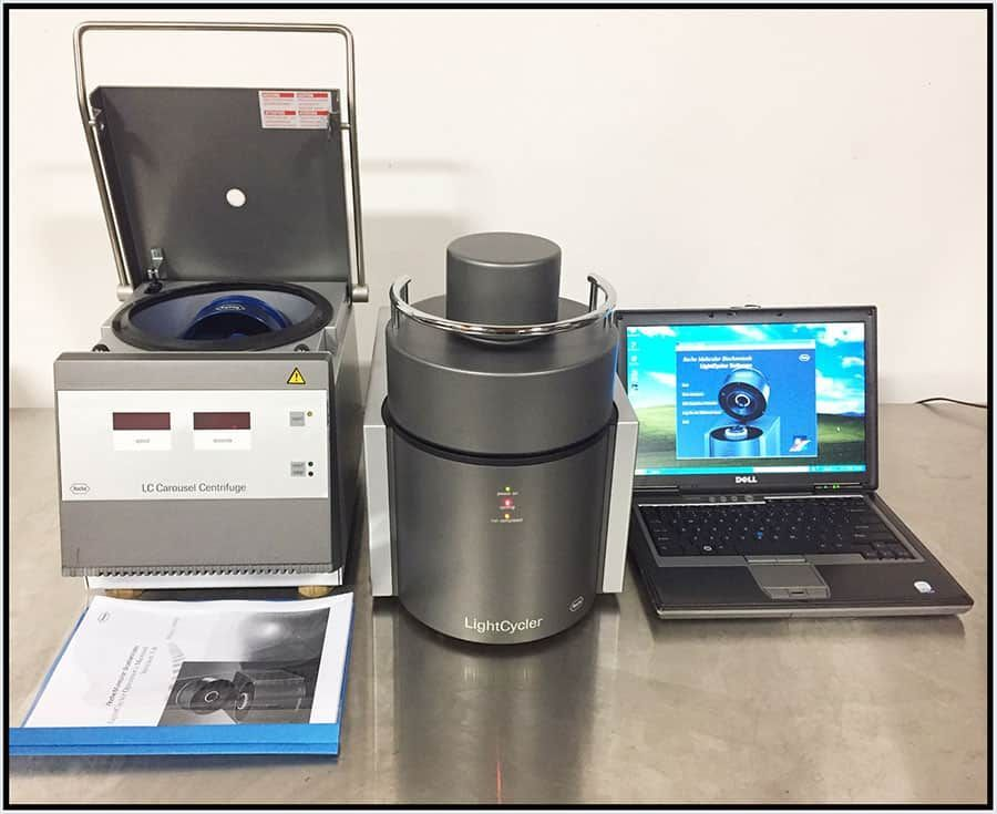 Roche Real Time PCR Lightcycler 1.5 Complete System w WARRANTY