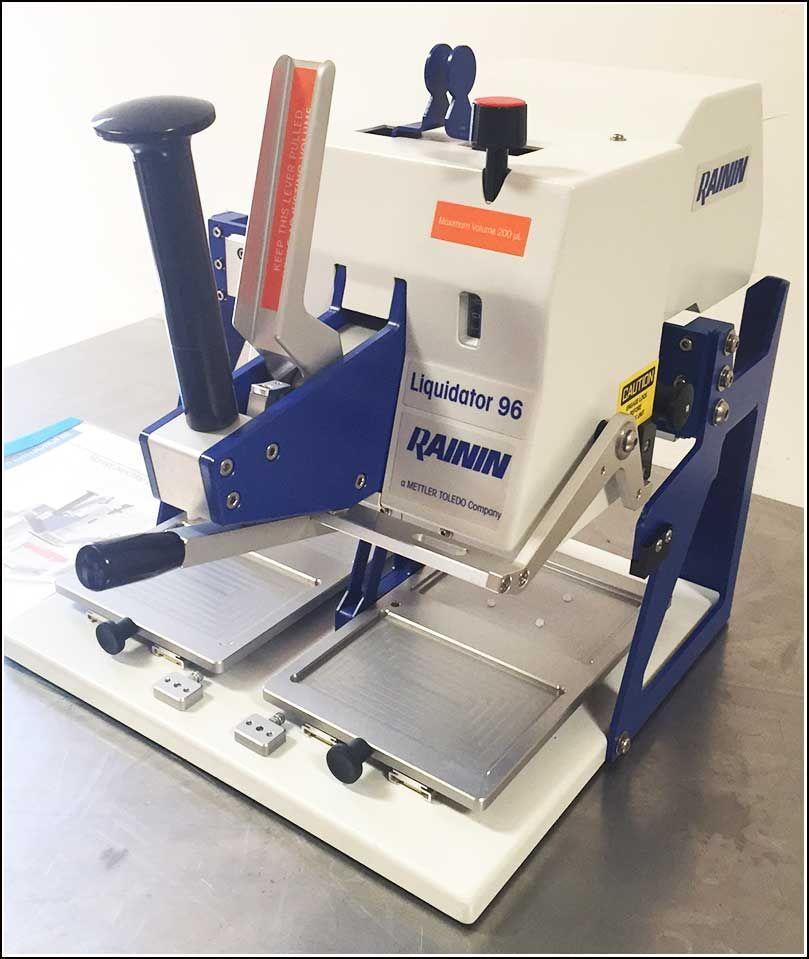 Rainin Liquidator 96 LIQ-96-200 Manual Pipetting System w WARRANTY