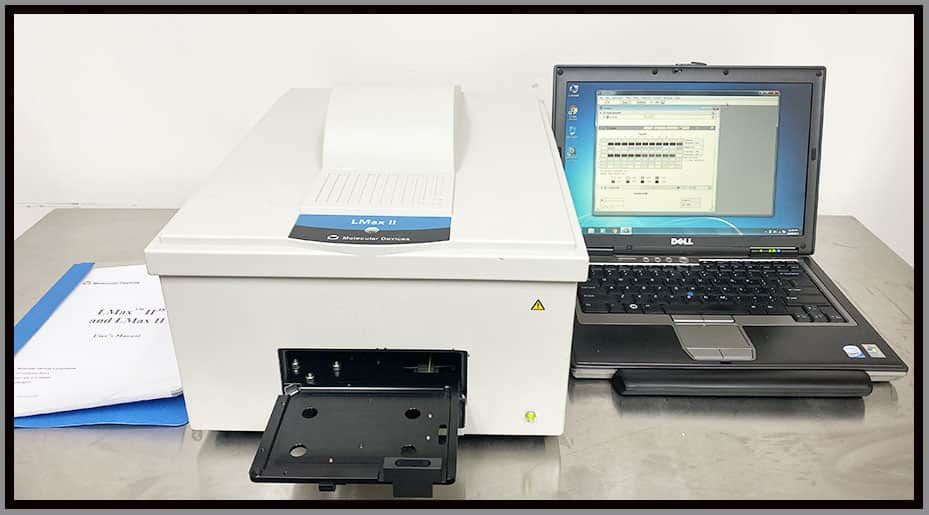 Molecular Devices LMax II Luminometer Luminescence Microplate Reader w WARRANTY