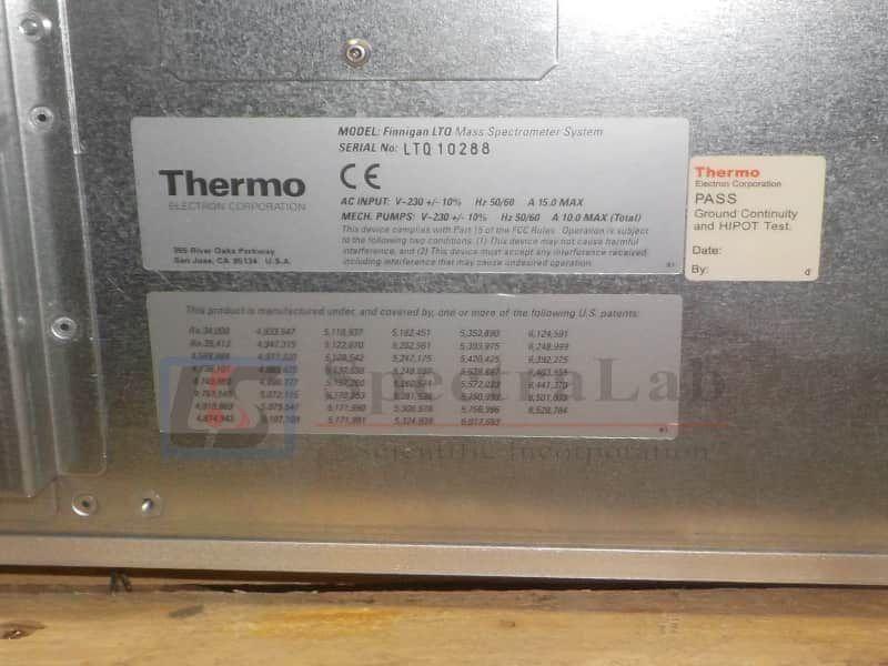 Thermo Finnigan LTQ Linear Ion Trap