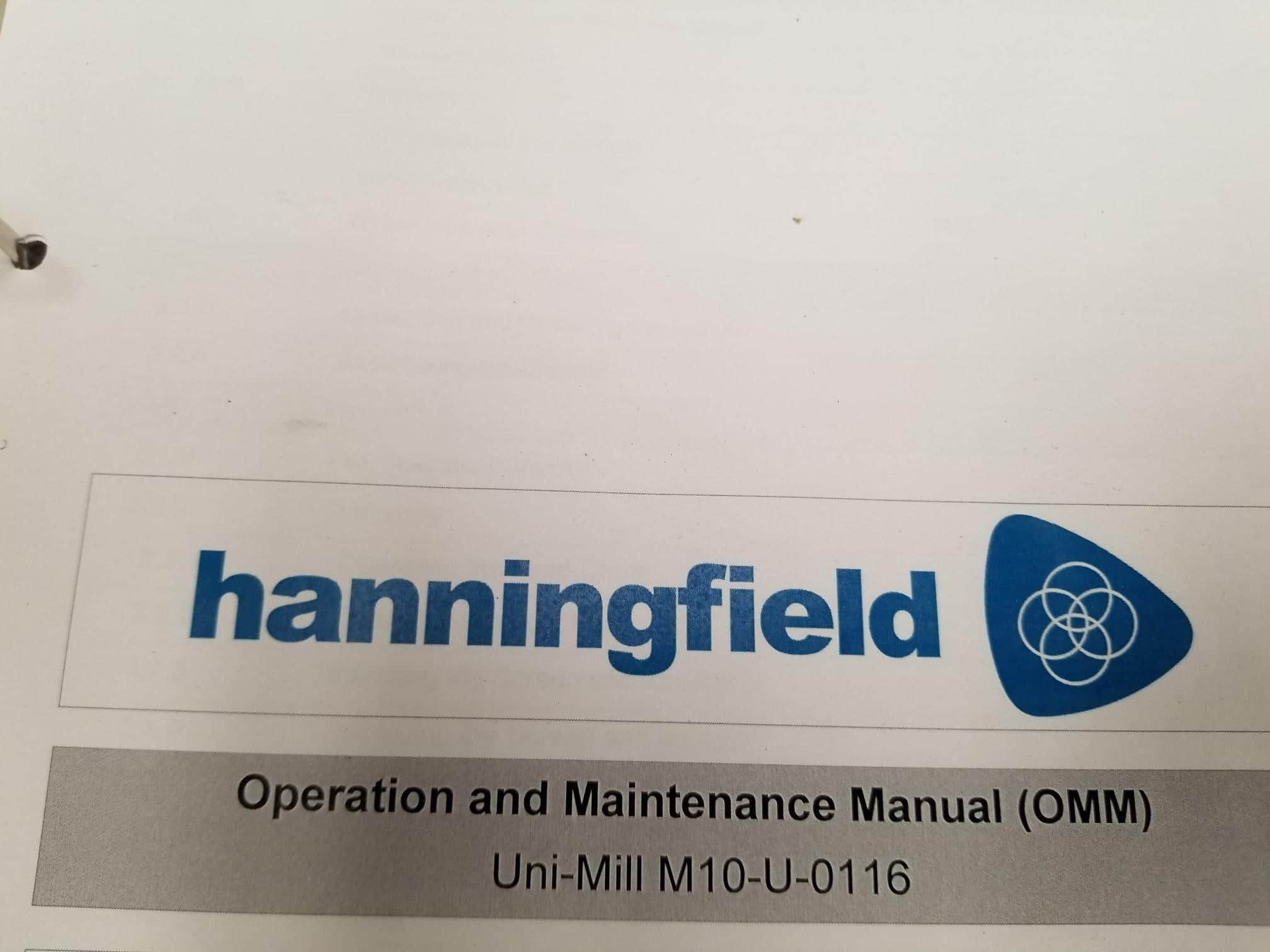 Hanningfield Conical Mill Uni-Mill M10