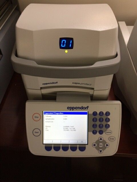 Eppendorf Mastercycler PRO S Thermal Cycler Model 6325
