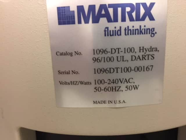 Thermo Matrix Hydra DT - still in the lab  PRICE DROP!!!