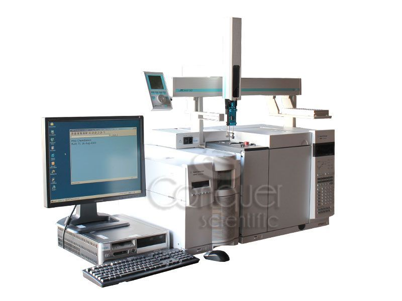 Agilent 7890A / 5975C inert XL GCMS System with CTC Analytics GC PAL for sale