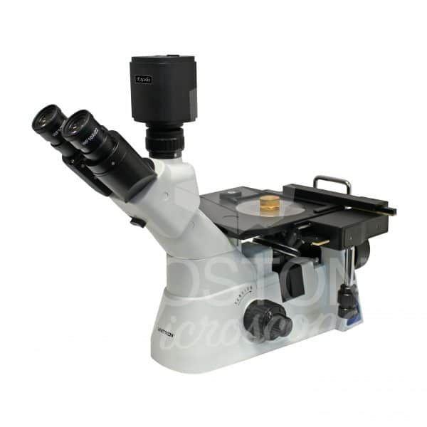 Unitron MEC4 Trinocular Inverted Metallurgical Microscope