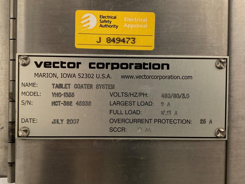 """30"""" Vector Hi-Coater Coating Pan, S/S, Model VHC-1355"""