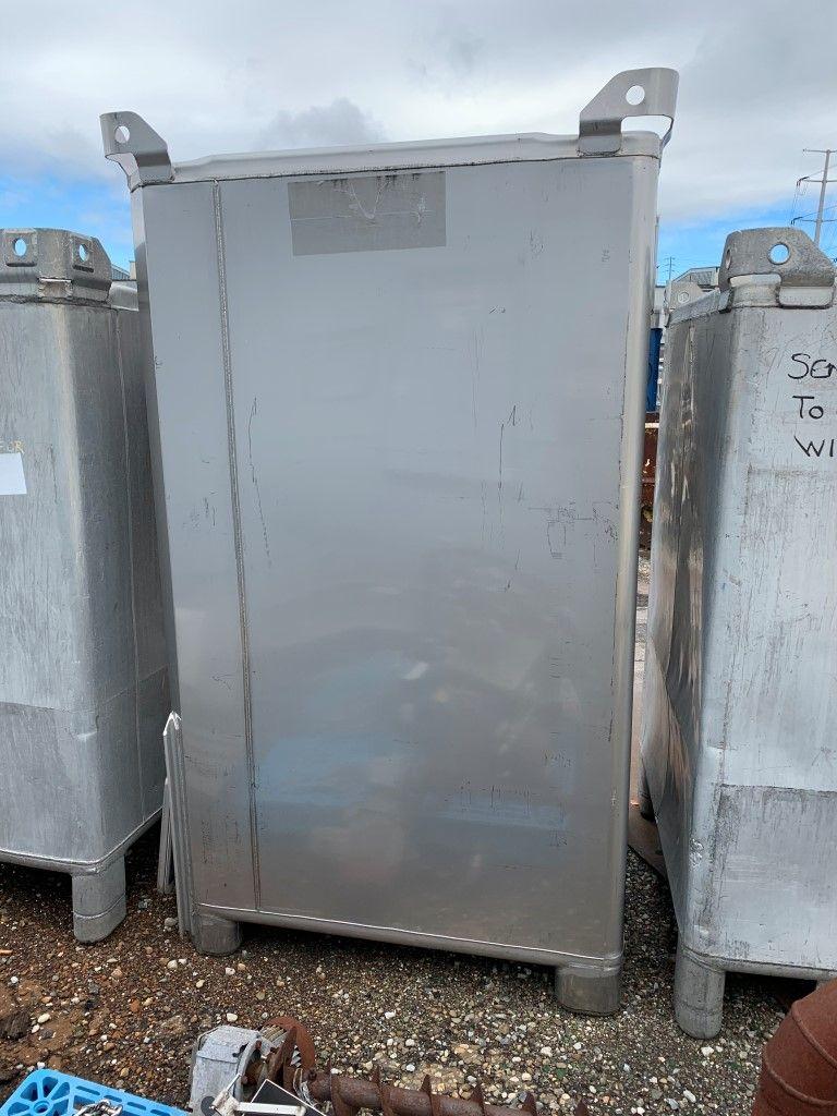 90 Cu Ft Tote Systems Tote Bin, S/S