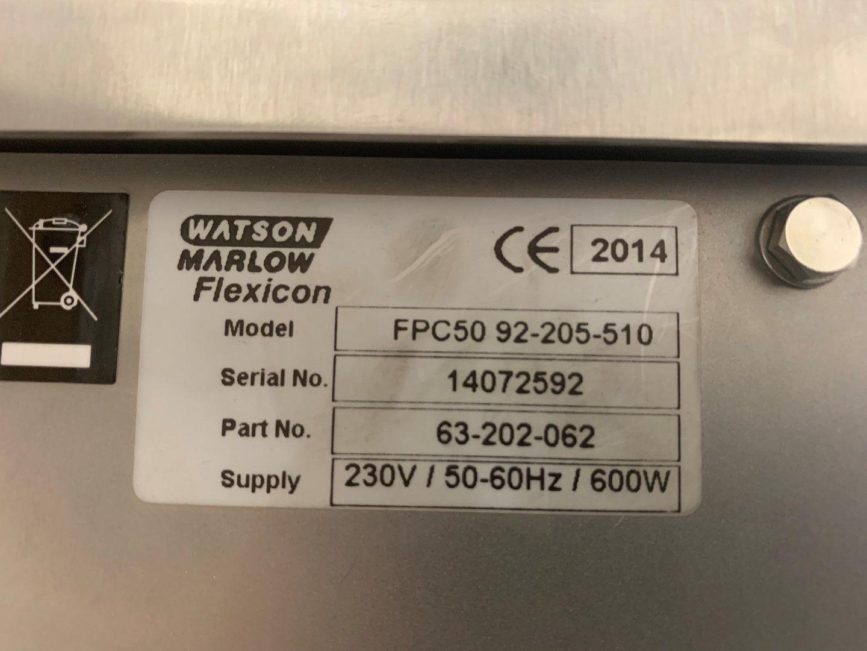 FPC50 Watson Marlow Flexicon Aseptic Filler