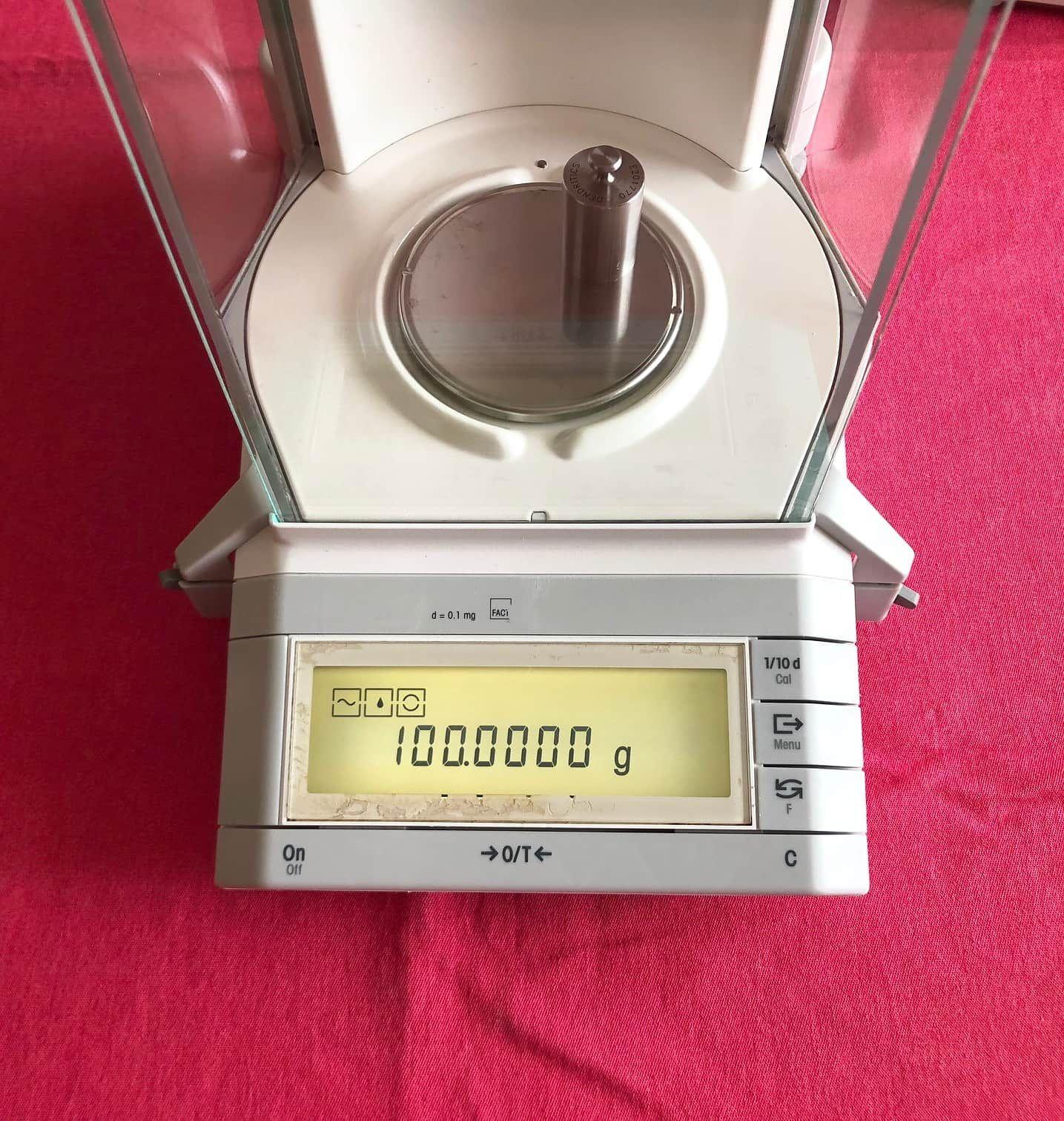 Mettler Toledo AG204 Analytical Balance Scale 210.0000g