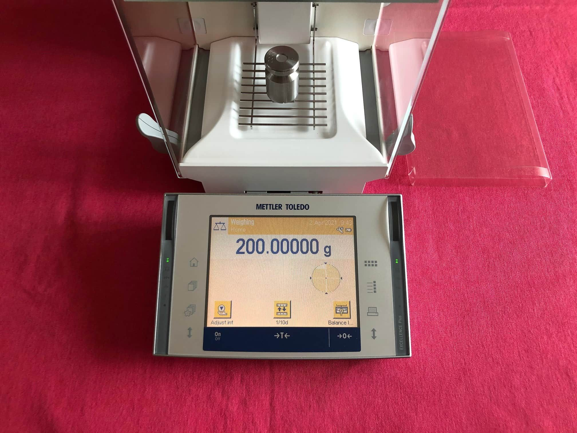Mettler Toledo XP205 Analytical Balance Scale 220.00000g