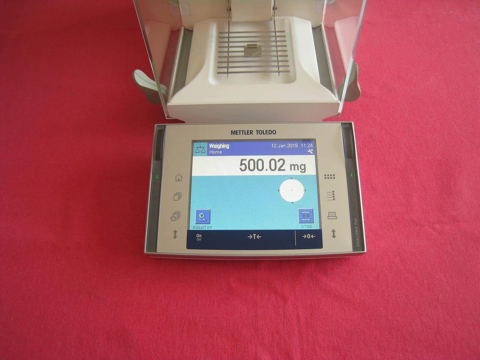 Mettler Toledo XP205 Analytical Balance Scale 220.00000g