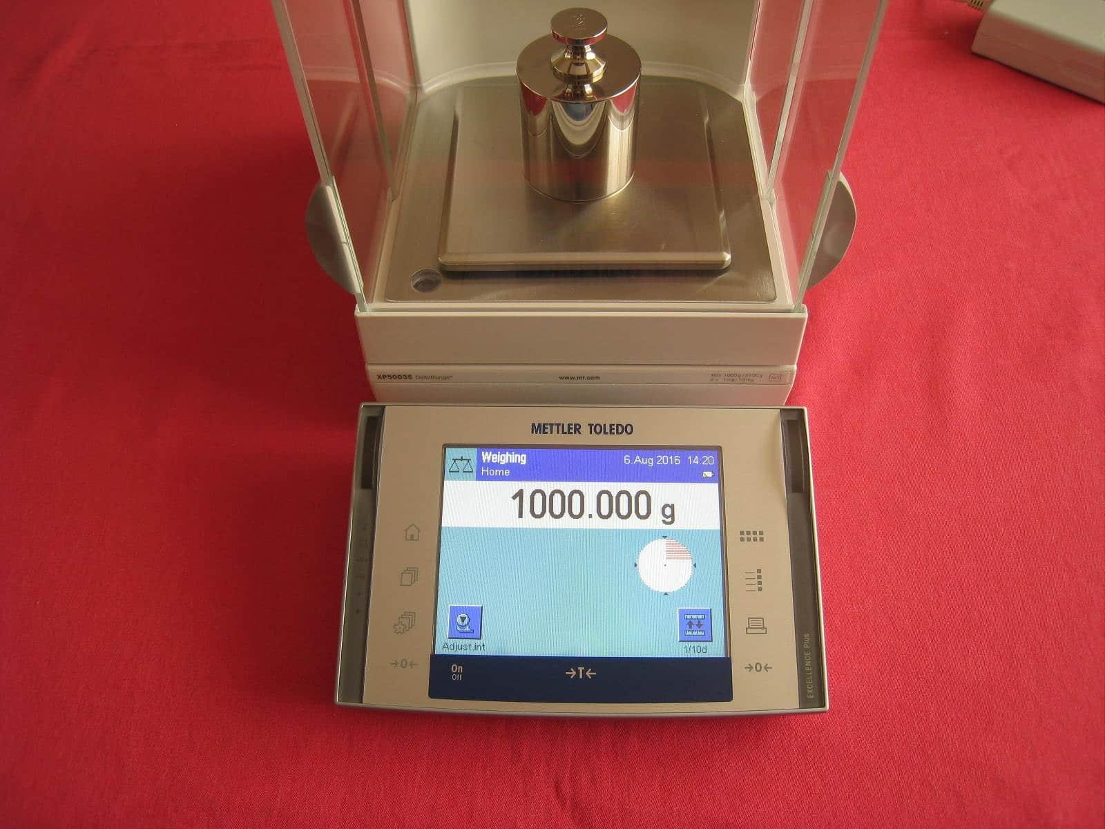 Mettler Toledo XP5003S DeltaRange Balance Scale 1000.000g / 5100.00g