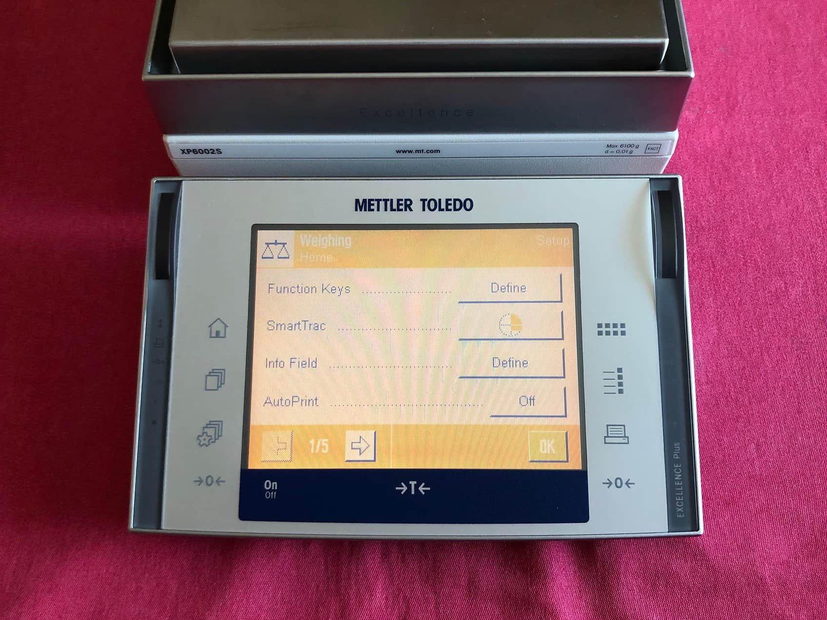 Mettler Toledo XP6002S Balance Scale 6100.00g