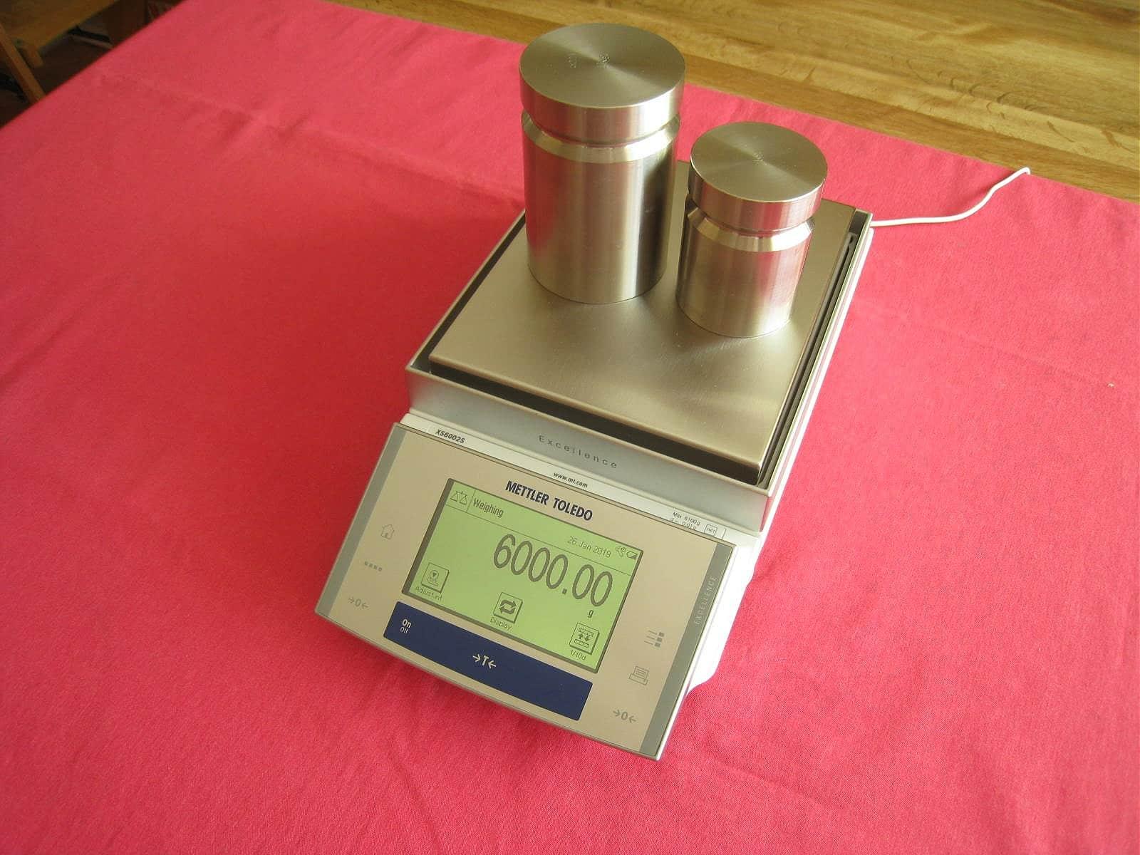 Mettler Toledo XS6002S Balance Scale 6100.00g