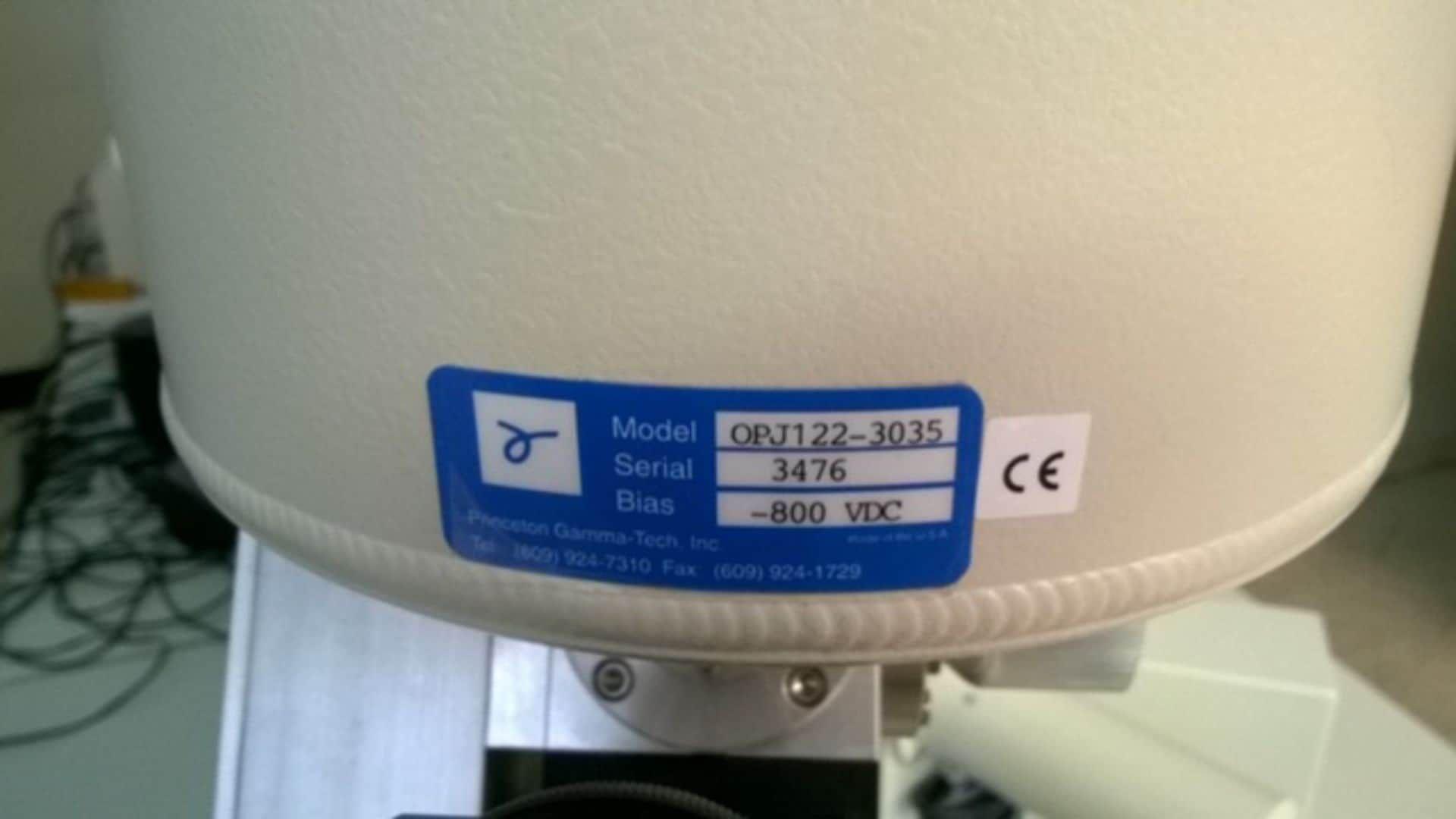 JEOL JSM-6360LV SCANNING ELECTRON MICROSCOPE W/ PRINCETON GAMMA TECH OPJ122-3035
