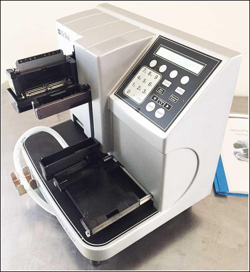 Bio-Tek Microflo Microplate Dispenser 96 & 384 w WARRANTY