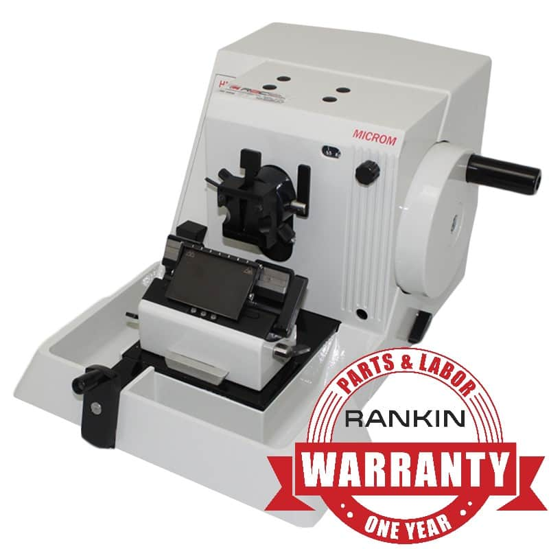 Microm HM 325 Rotary Microtome | Rankin 1-Year Parts & Labor Warranty