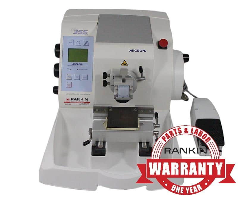 Thermo Microm HM 355 S Microtome | Rankin 1-Year Parts & Labor Warranty