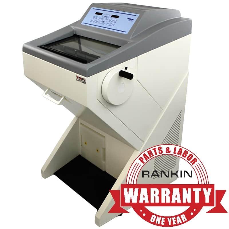 Microm HM 525 Cryostat | Rankin 1-Year Parts & Labor Warranty