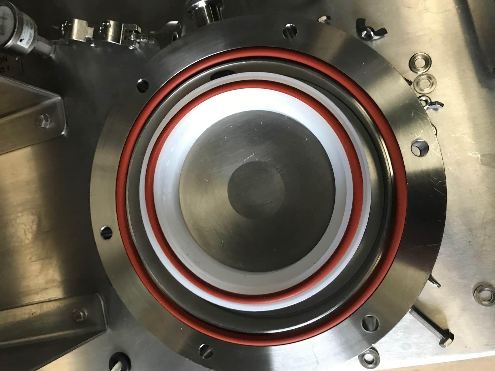 """Fluid Energy ALJET Air Jet Mill/Micronizer. 8"""" Diameter model. Stainless Steel"""