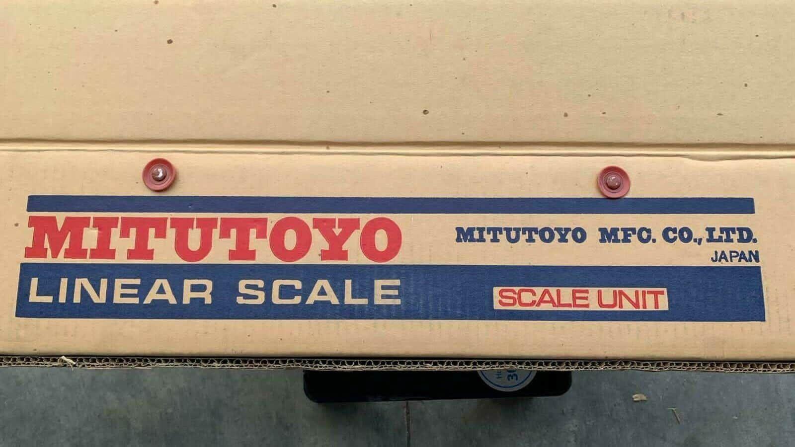 Mitutoyo Linear Scale 750MM MODEL