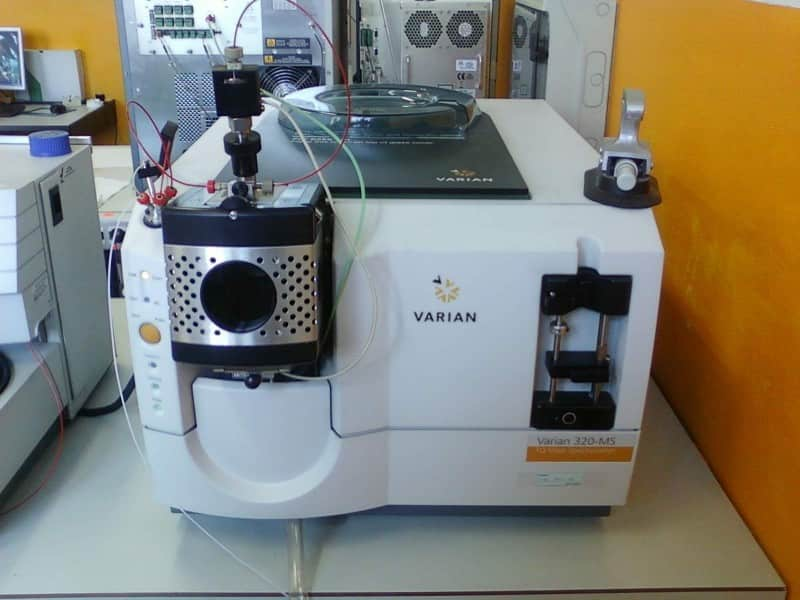 LC-MS/MS LC MS MS Triple Quad for Pesticide Testing Cannabis Varian 320 with DAD detector