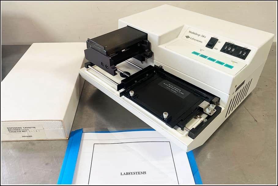 Thermo LabSystems Multidrop Microplate Dispenser 96 & 384 w WARRANTY