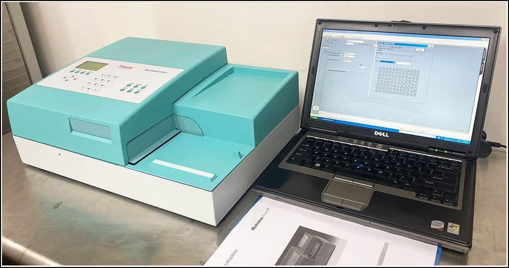 Microplate Reader Thermo Multiskan 96 & 384 w WARRANTY