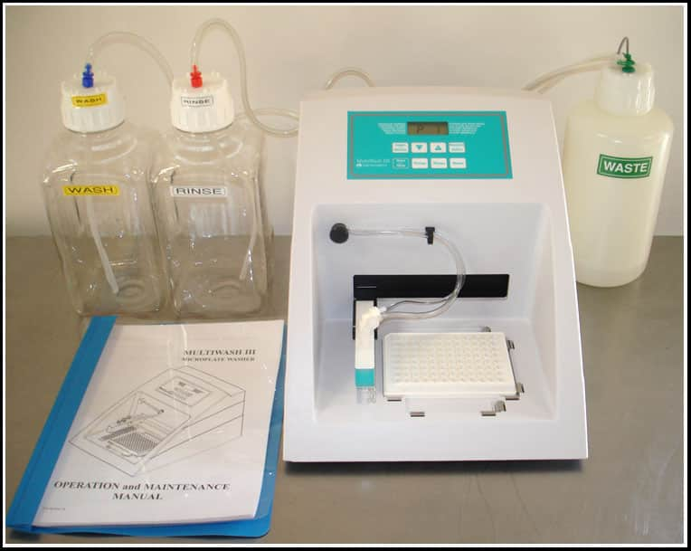 TriContinent Multiwash III Microplate Washer ELISA w WARRANTY