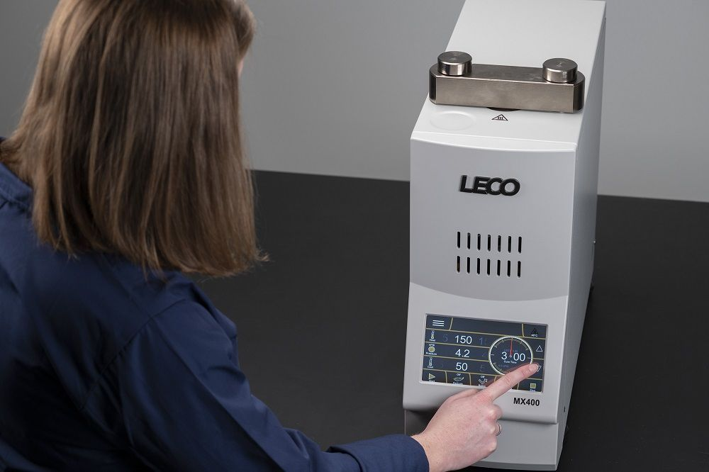 The MX400—LECO's Next Generation of Mounting Press