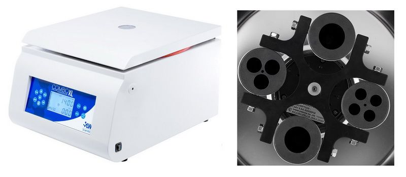 LWS ComboXL Bench-model Centrifuge