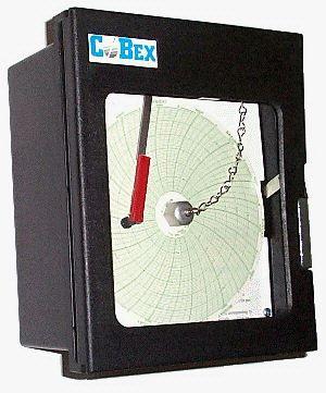 Cobex 5016-A-7 Circular Chart Temperature Recorder