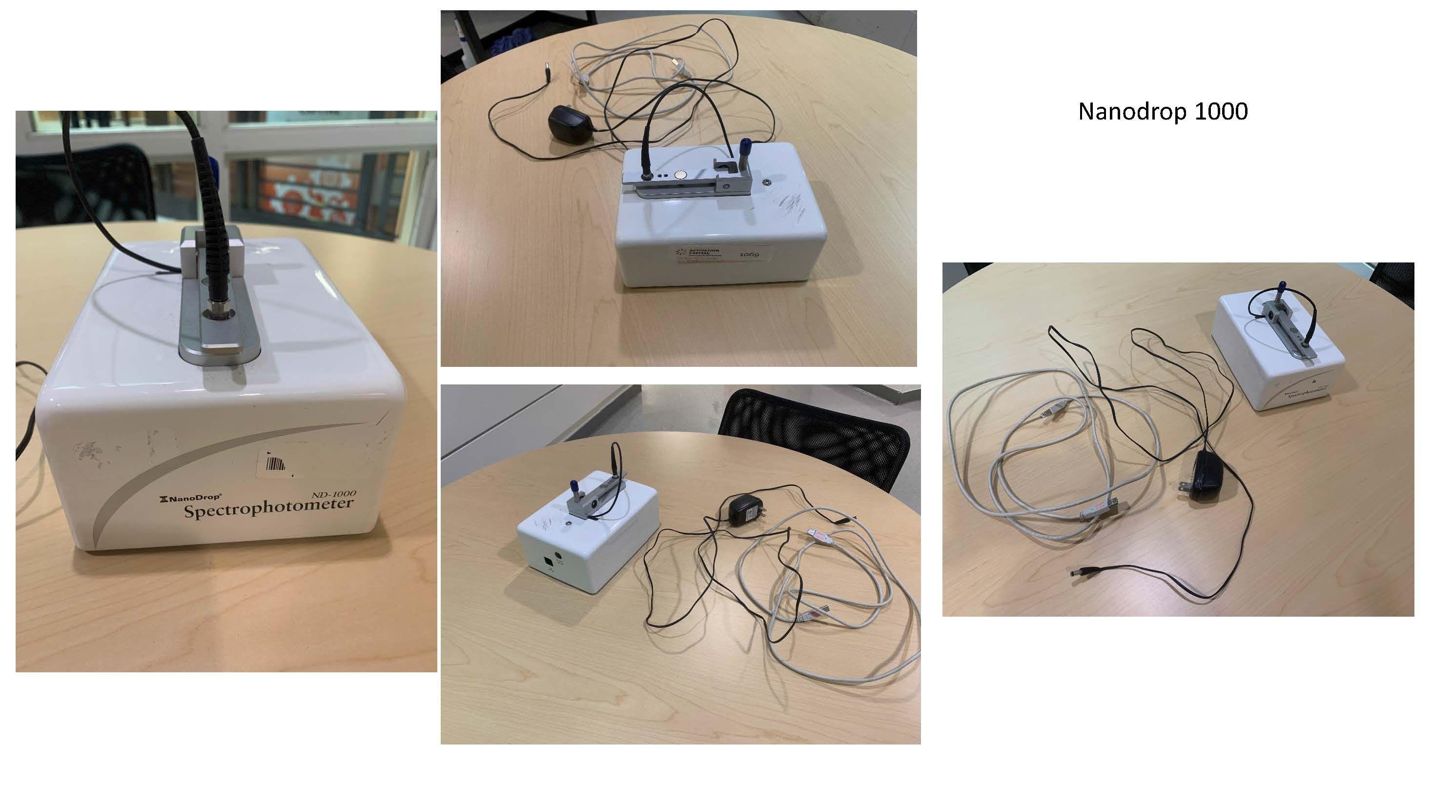 Shakers, Spectrometer, Pump