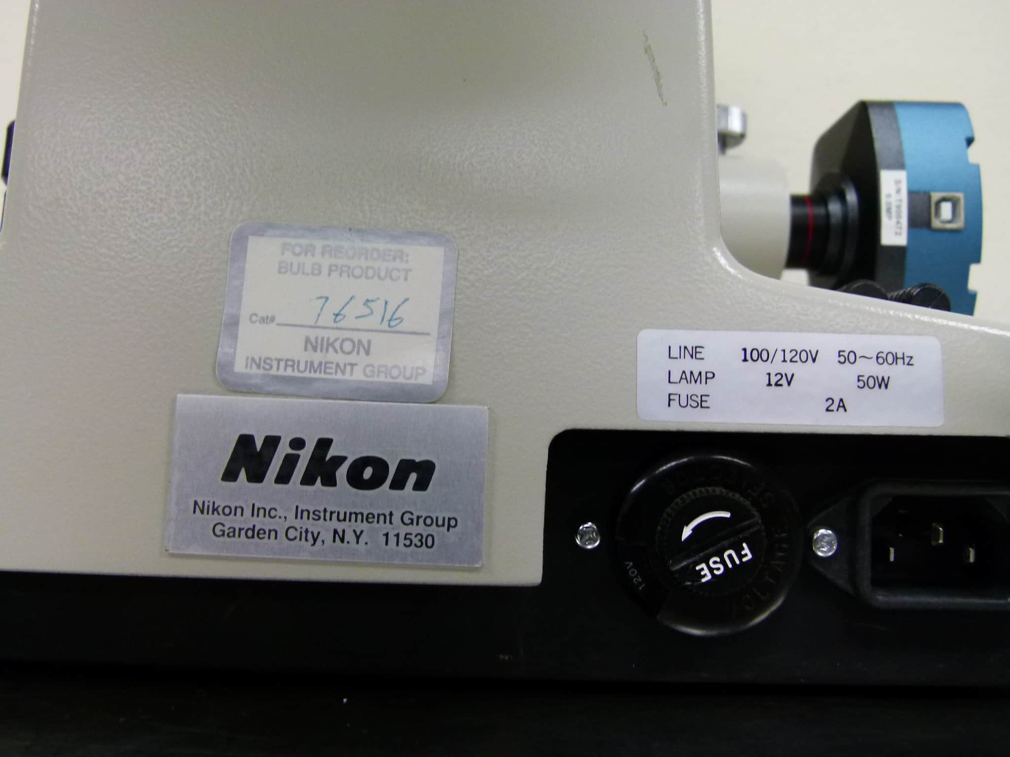 Nikon Diaphot-TMD Inverted Fluorescence Phase Microscope
