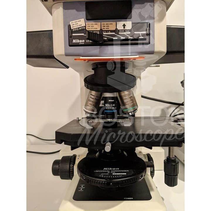 Nikon Eclipse E800 Trinocular Fluorescence Upright Microscope