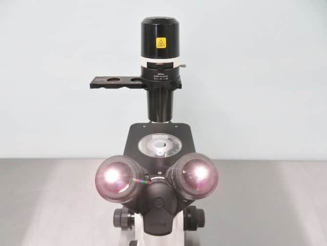 Nikon Eclipse TS100 Inverted Phase Contrast Microscope with Warranty