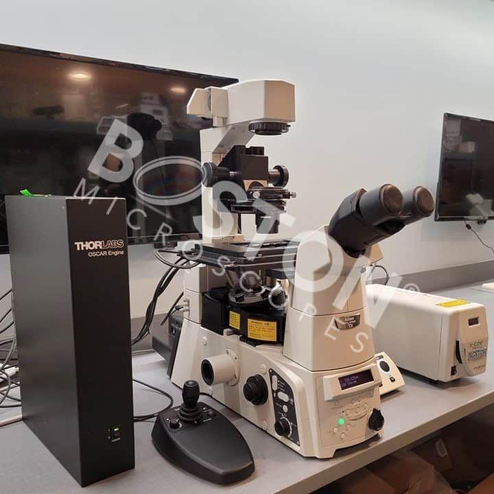 Nikon Eclipse Ti-E Motorized Inverted Fluorescence Microscope Thorlabs Package
