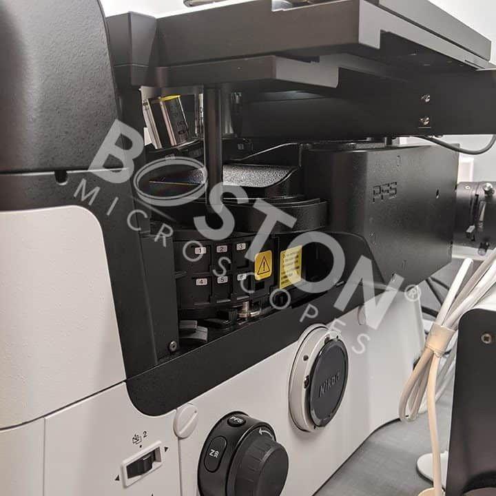 Nikon Eclipse Ti2-E Motorized Inverted DIC Phase Contrast Fluorescence Microscope w/ Perfect Focus