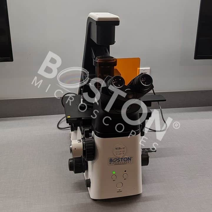 Nikon Eclipse Ts2Rfl Contrast Emboss LED Fluorescence Inverted Microscope