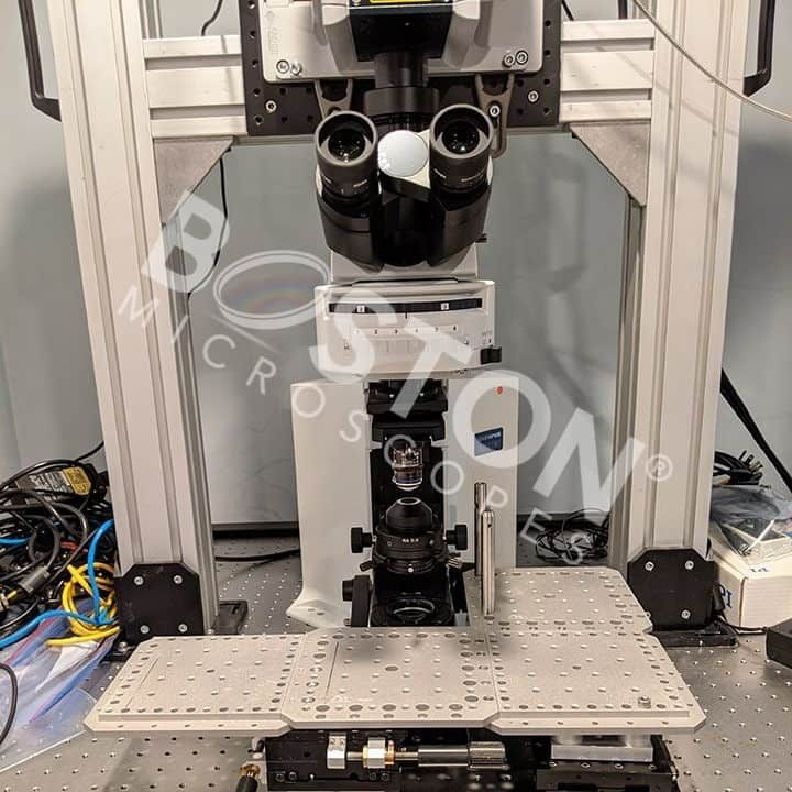 Olympus BX51WI Trinocular Fluorescence Upright Microscope