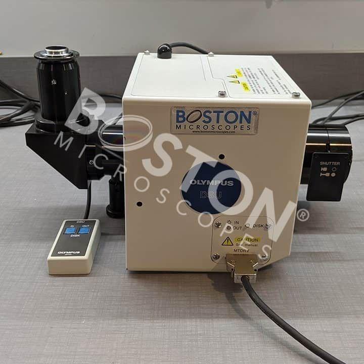 Olympus IX3-DCU Spinning Disk Confocal Scanner Unit