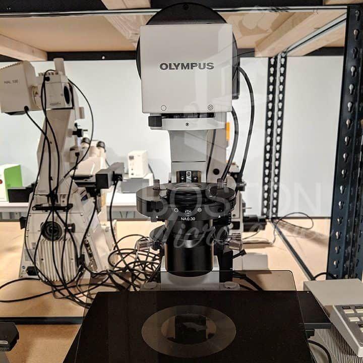 Olympus IX81 Trinocular Inverted Fluorescence Phase Contrast Microscope