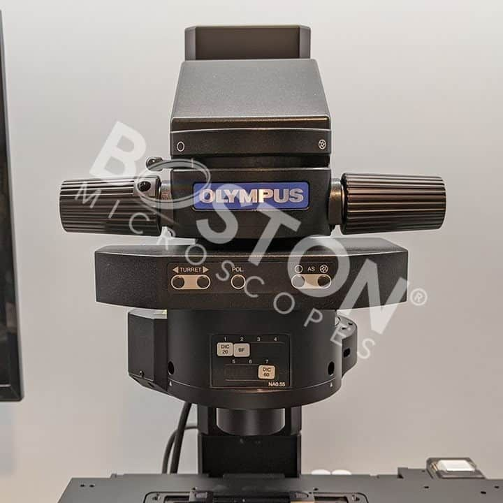 Olympus IX83 Motorized Trinocular Inverted Fluorescence DIC Microscope