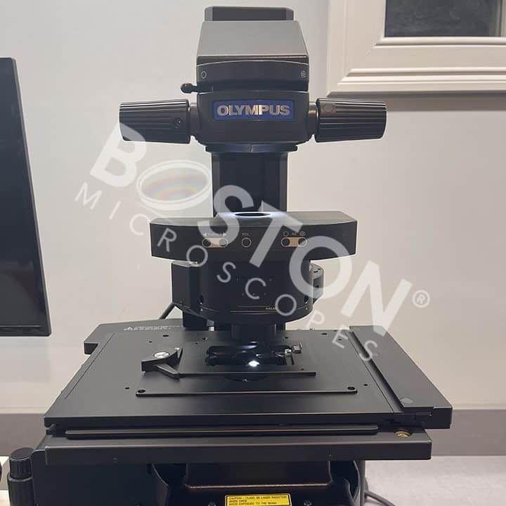 Olympus IX83 Motorized Trinocular Inverted Fluorescence DIC Microscope w/ ZDC2