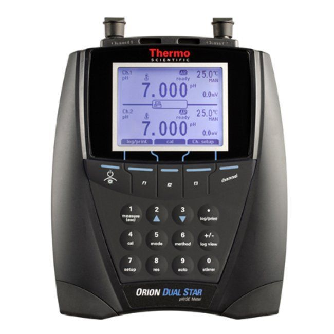Orion Dual Star two channel pH/ISE benchtop meter