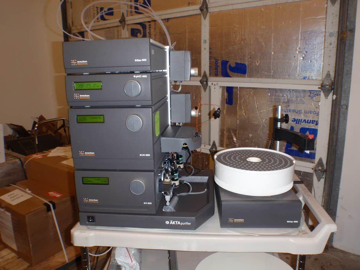 ** Year End Sale!!**  Fully Refurbished GE Amersham Biosciences AKTA Purifier 10 FPLC w/ Frac-900 Desktop PC