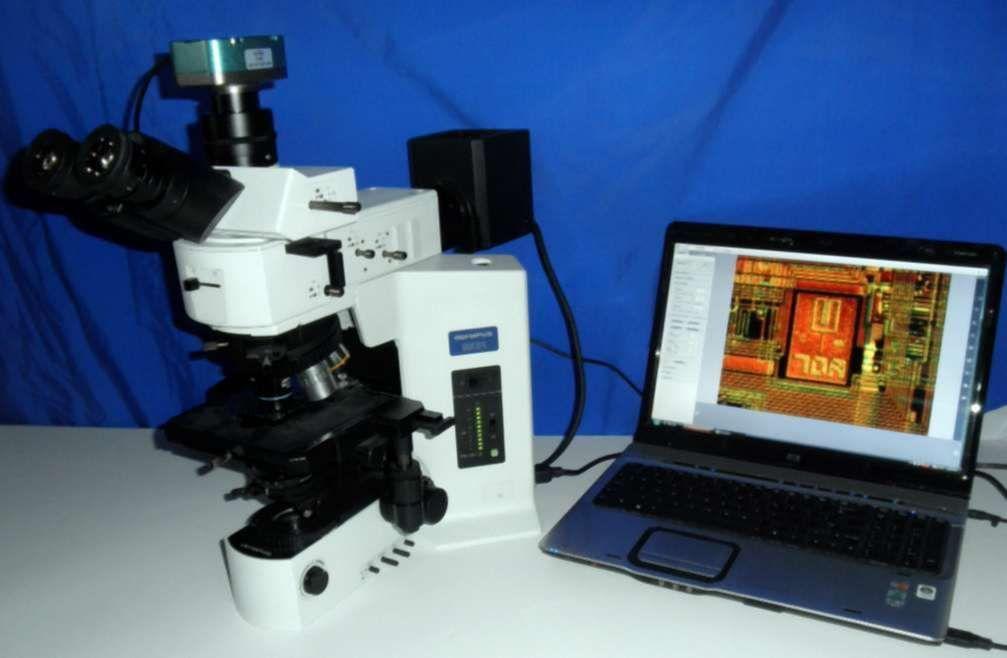 Olympus BX51 Microscope DIC BF/DF Nomarski Metallurgical
